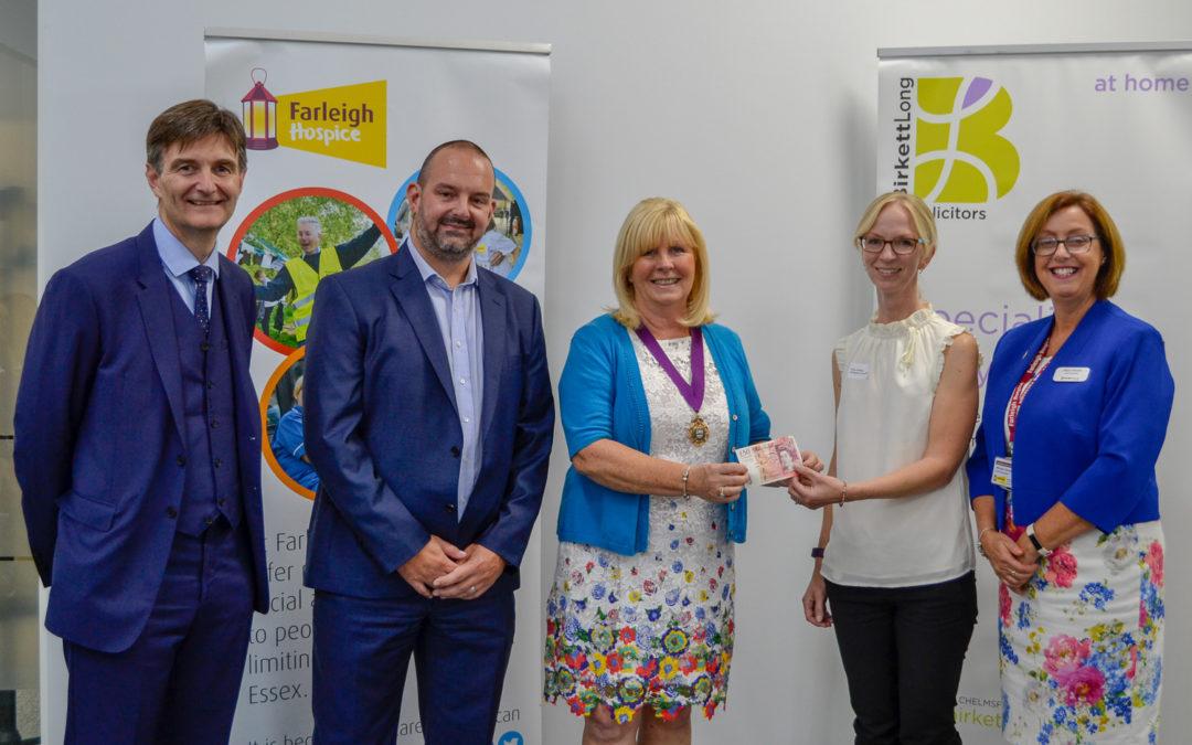 Farleigh Hospice £50 Challenge 2018