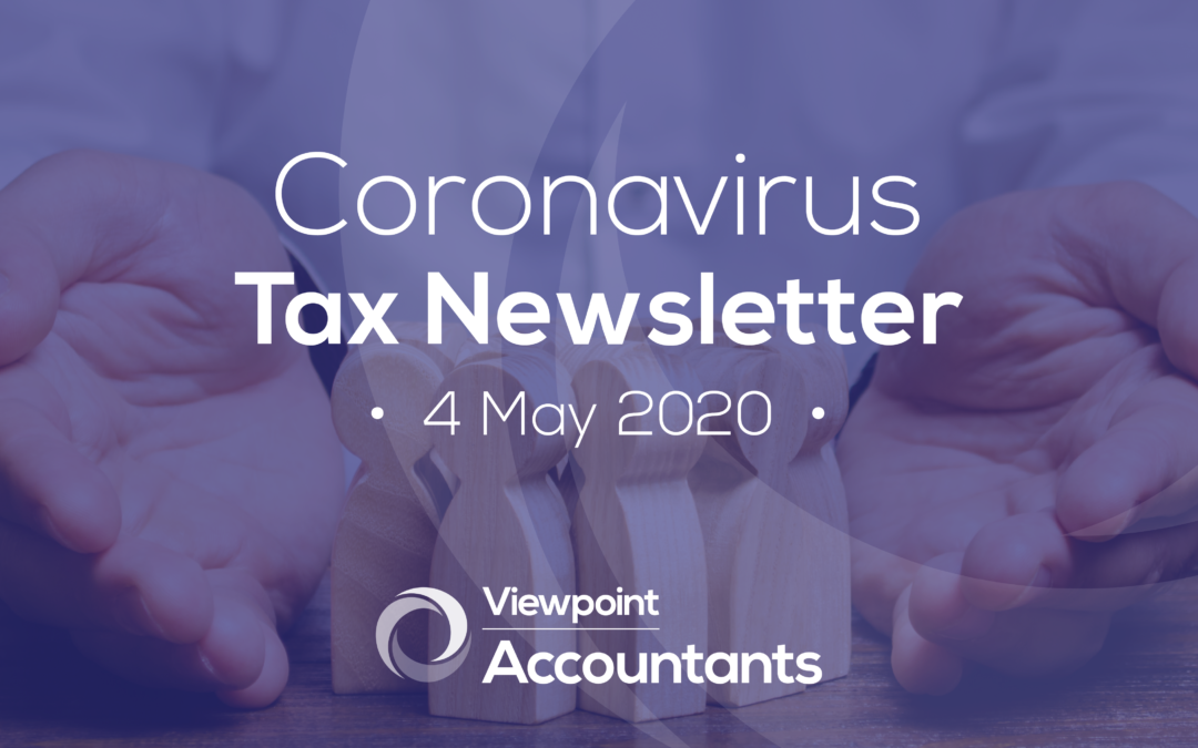 Coronavirus – 4 May 2020 Tax Newsletter