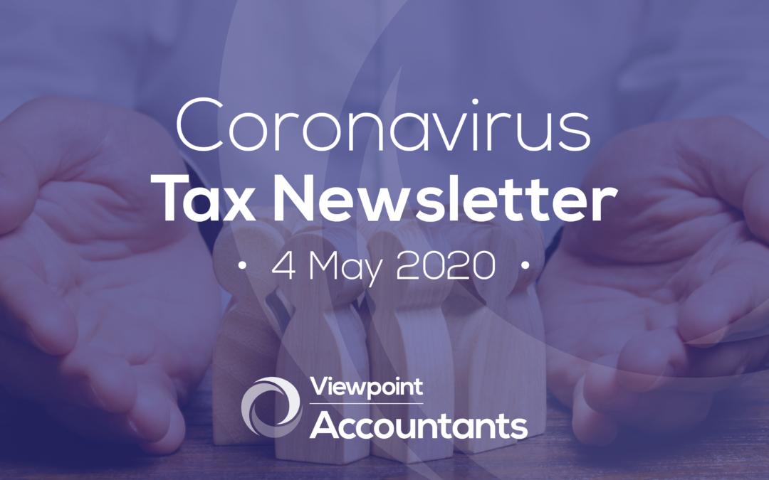 Coronavirus – 4 May 2020 Tax Newsletter