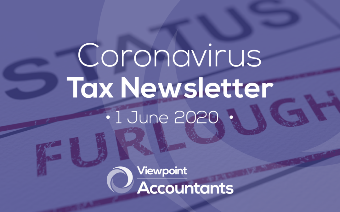 Coronavirus – 1 June 2020 Tax Newsletter