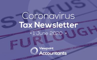 Coronavirus – 1 June 2020 Tax Newsletter