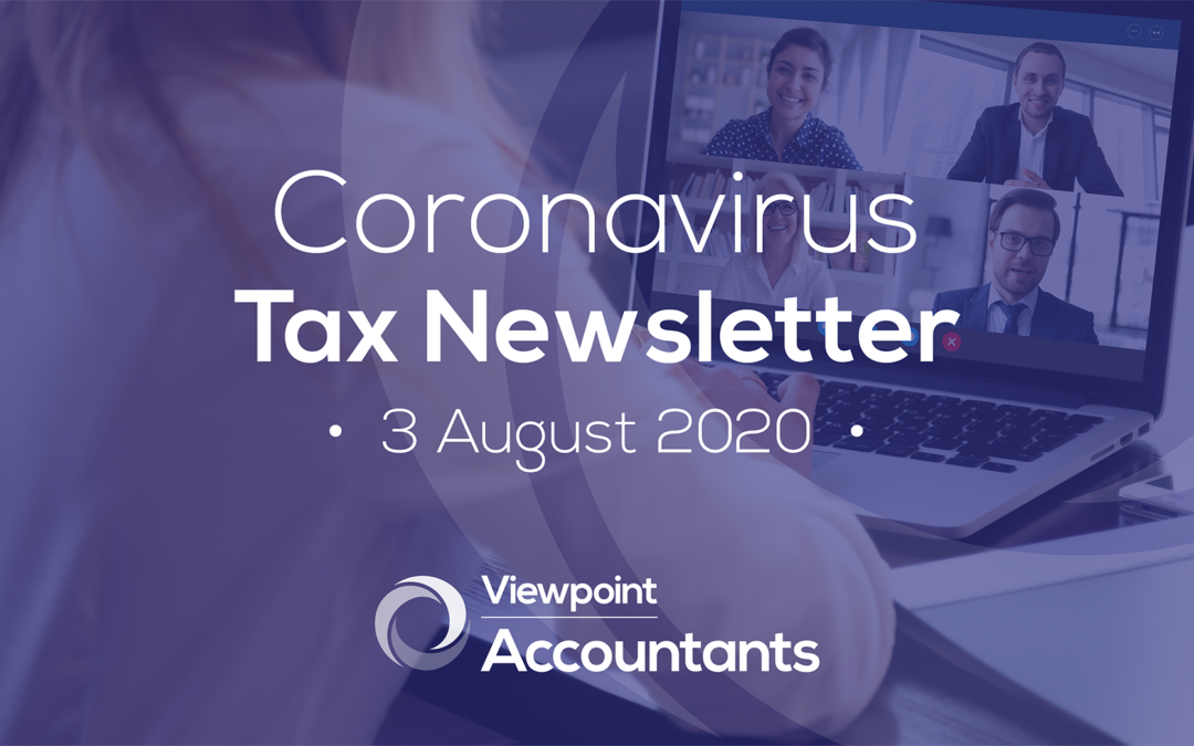 Coronavirus – 3 August 2020 Tax Newsletter