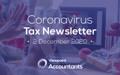 Coronavirus – 2 December 2020 Tax Newsletter