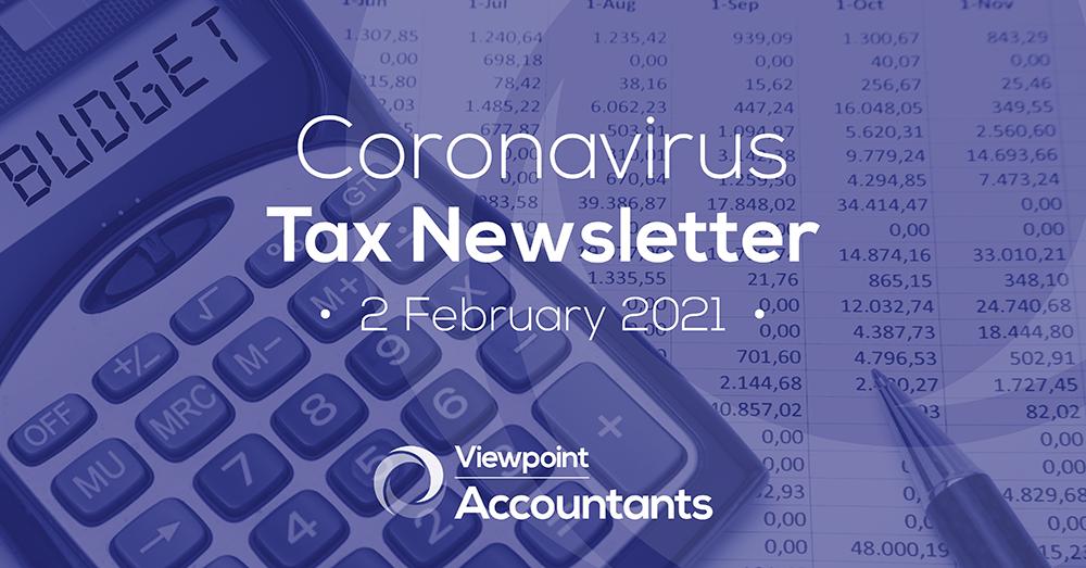 Coronavirus – 01 February 2021 Tax Newsletter